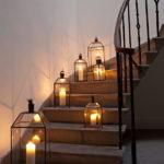 подсветка лестницы в частном доме оформление идеи