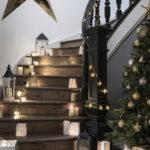 подсветка лестницы в частном доме идеи оформления
