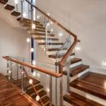 подсветка лестницы в частном доме виды фото