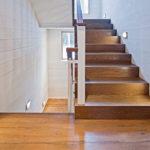 подсветка лестницы в частном доме фото видов