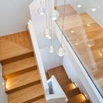 подсветка лестницы в частном доме виды декора