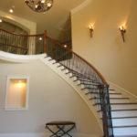 подсветка лестницы в частном доме виды оформления