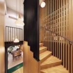 подсветка лестницы в частном доме идеи дизайн