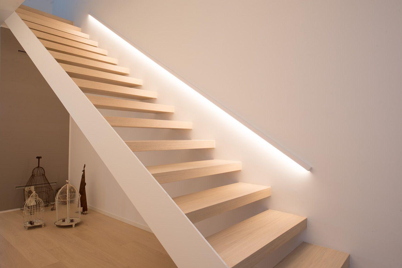 подсветка лестницы в доме беспроводная
