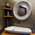 полки в ванной комнате идеи дизайна