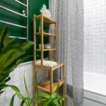 полки в ванной комнате идеи декор