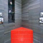 полки в ванной комнате интерьер фото