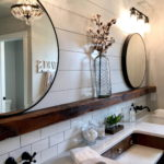 полки в ванной комнате интерьер идеи