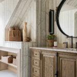 полки в ванной комнате идеи интерьера