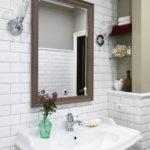 полки в ванной комнате оформление фото