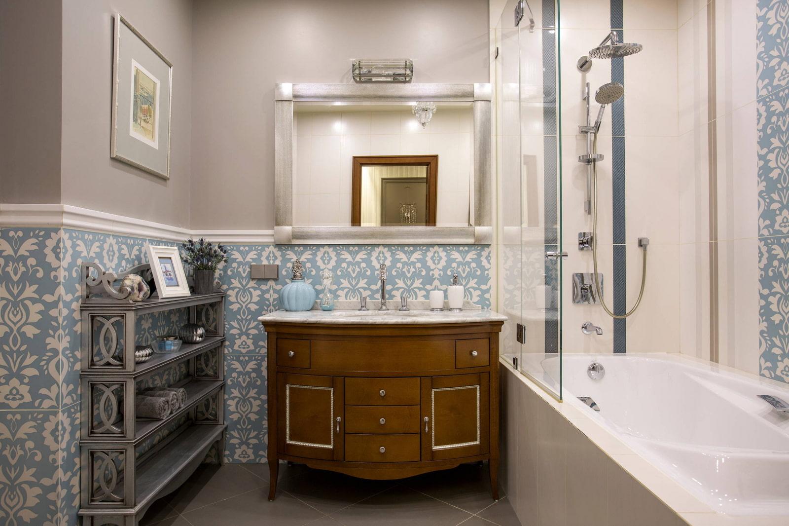 полки в ванной комнате фото идеи