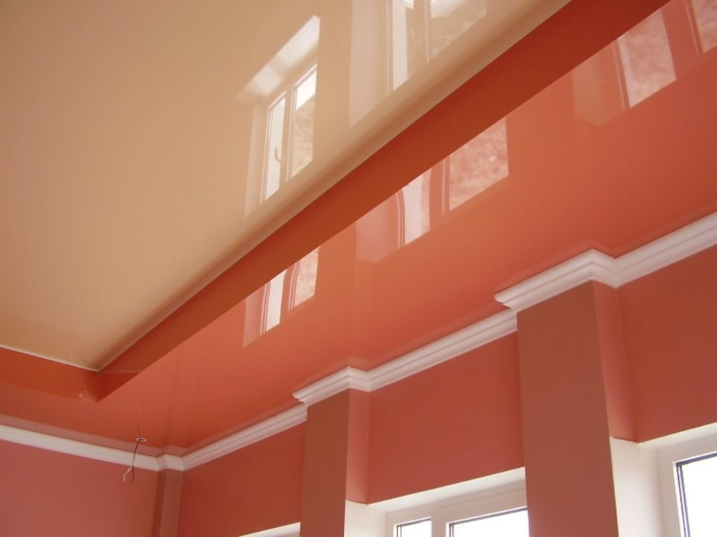 потолочный плинтус для натяжного потолка дизайн идеи