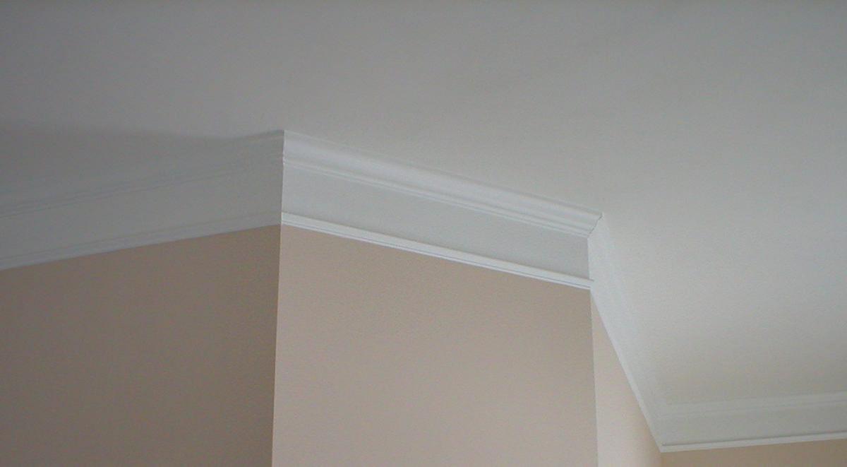 потолочный плинтус для натяжного потолка фото декор