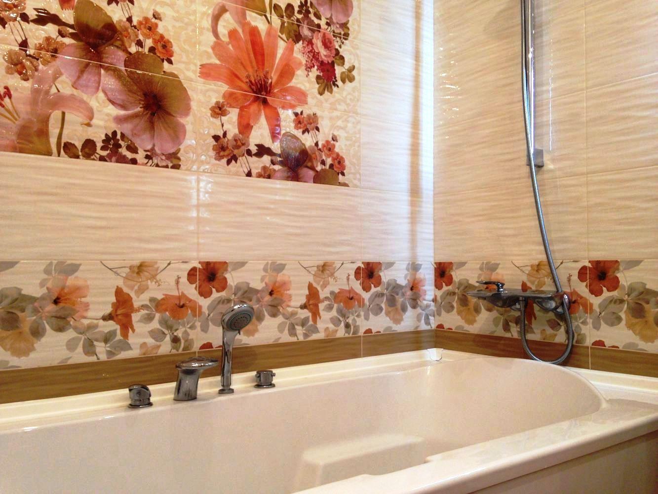 пвх панели для ванной идеи