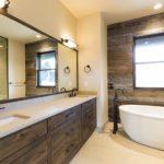 пвх панели в ванной комнате декор