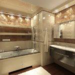 пвх панели в ванной комнате фото оформление