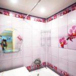 пвх панели в ванной комнате идеи оформление