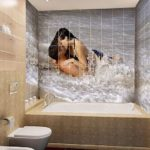 пвх панели в ванной комнате варианты идеи