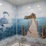 пвх панели в ванной комнате виды фото