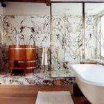 пвх панели в ванной комнате виды идеи