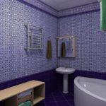 пвх панели в ванной комнате обзор