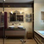 пвх панели в ванной комнате дизайн идеи