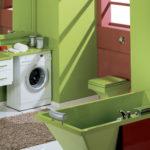 раковина над стиральной машиной идеи дизайна