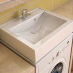 раковина над стиральной машиной обустройство