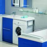 раковина над стиральной машиной обустройство идеи