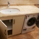 раковина над стиральной машиной фото дизайна