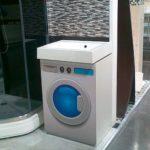 раковина над стиральной машиной идеи дизайн