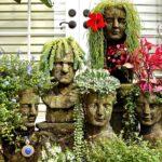садовые вазоны для цветов фото