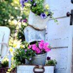 садовые вазоны для цветов оформление фото