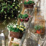 садовые вазоны для цветов фото оформление