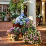 садовые вазоны для цветов идеи оформления
