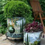 садовые вазоны для цветов виды идеи
