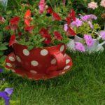 садовые вазоны для цветов дизайн