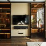 шкаф в гостиной идеи интерьера