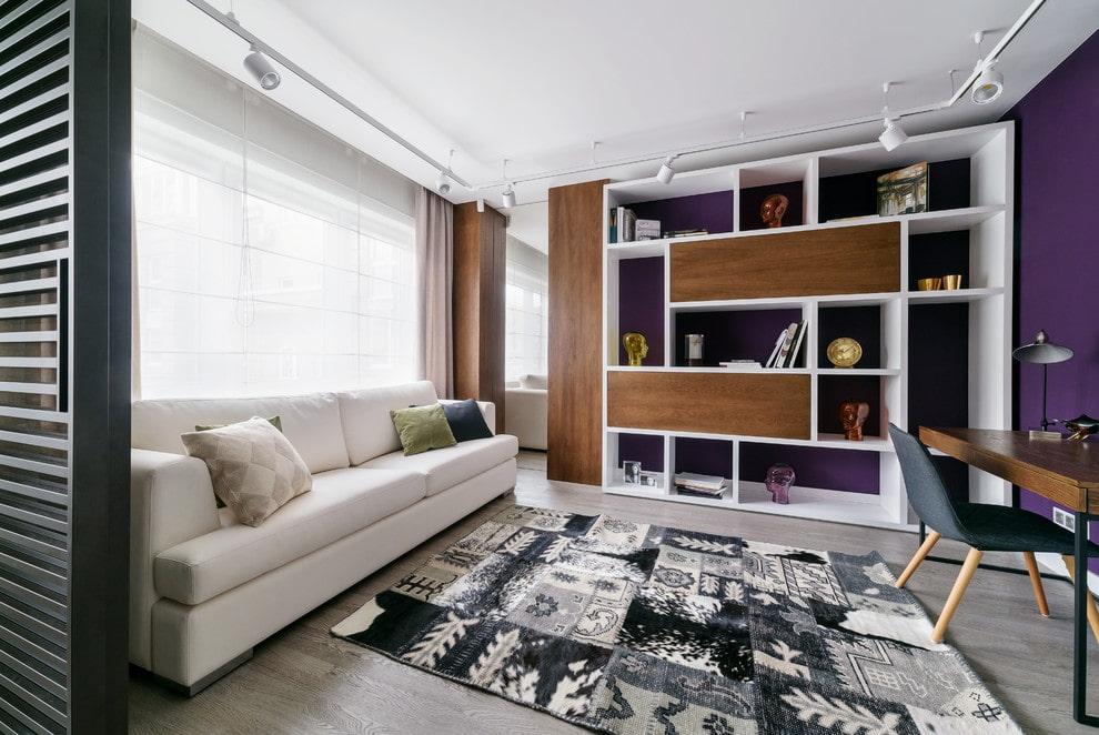 шкаф в гостиную оформление