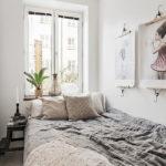 спальня в скандинавском стиле фото декор