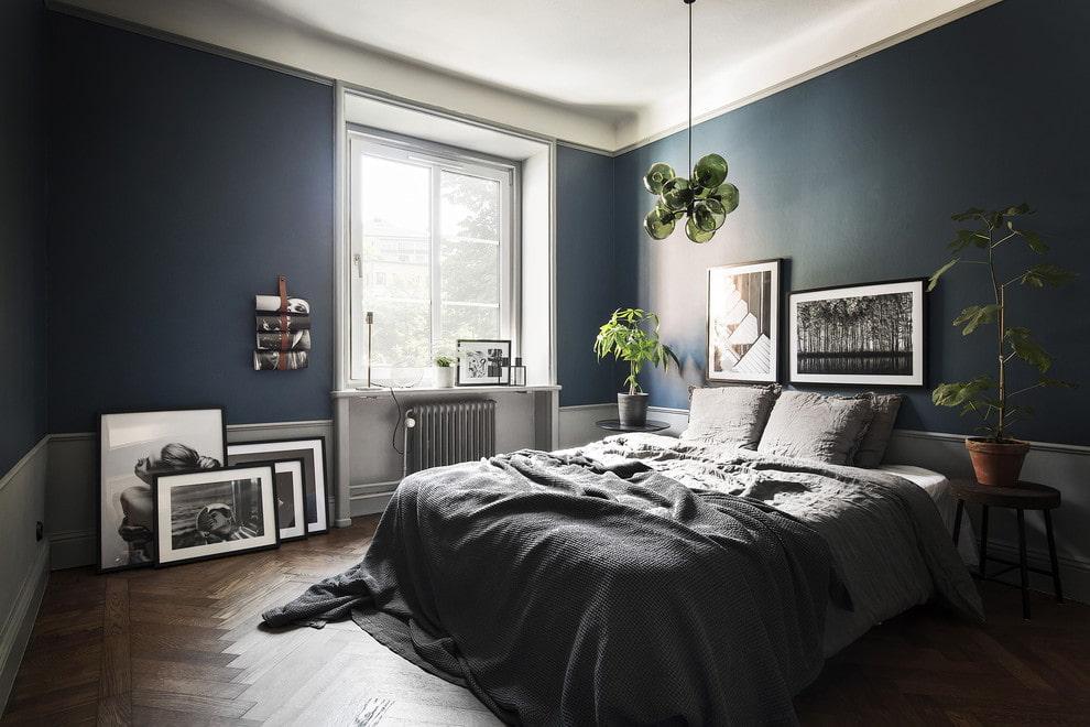 спальня в скандинавском стиле декор