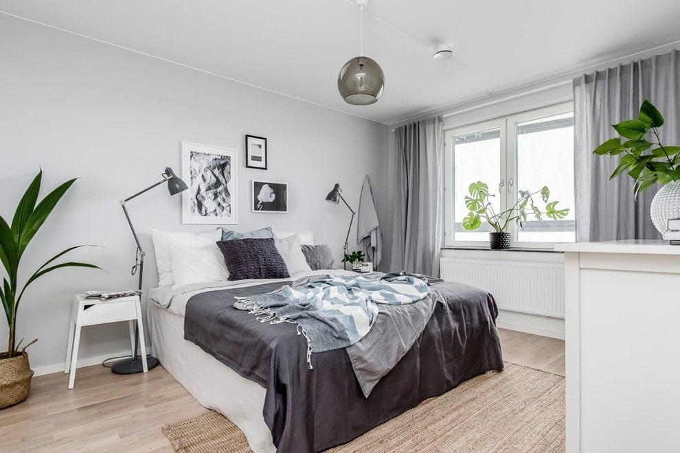 спальня в скандинавском стиле дизайн фото
