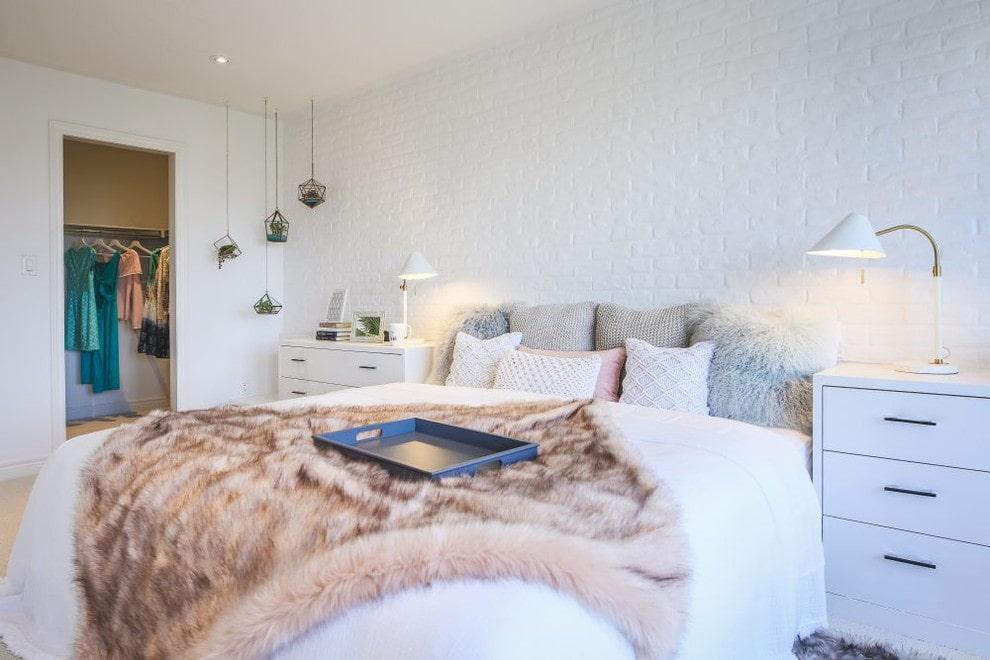 спальня в скандинавском стиле фото декора