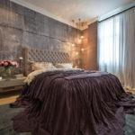 спальня в стиле лофт фото интерьер