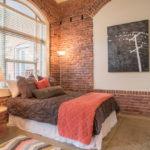 спальня в стиле лофт идеи интерьер