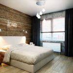 спальня в стиле лофт фото дизайн