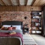 спальня в стиле лофт фото дизайна