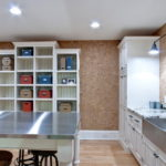 цвет стен на кухне в частном доме