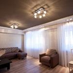 светильники для натяжных потолков фото варианты