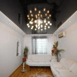 светильники для натяжных потолков интерьер